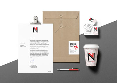 Notable.Vision Logo & Brand Identity Design